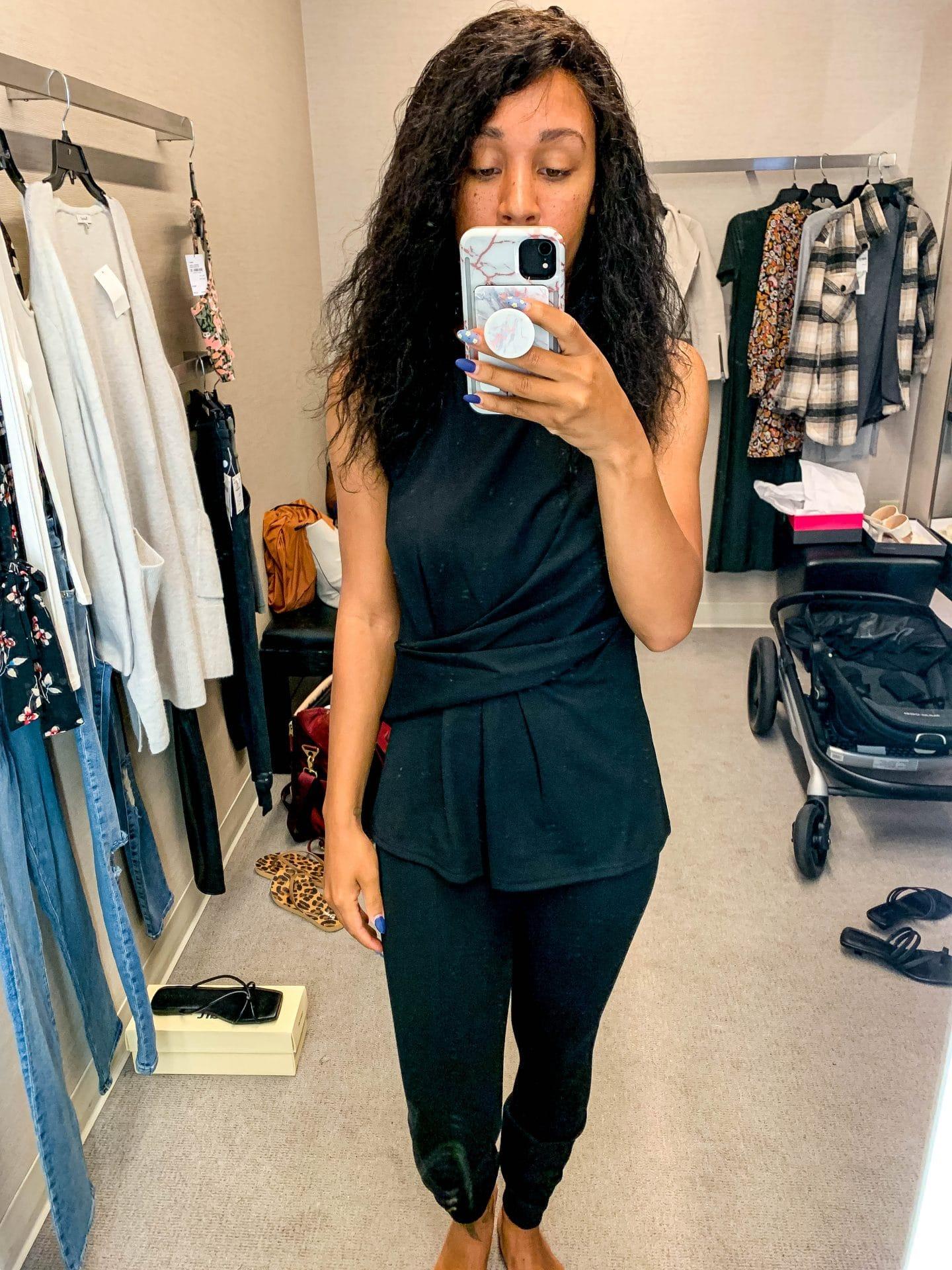 livinglesh nordstrom anniversary sale all black workwear