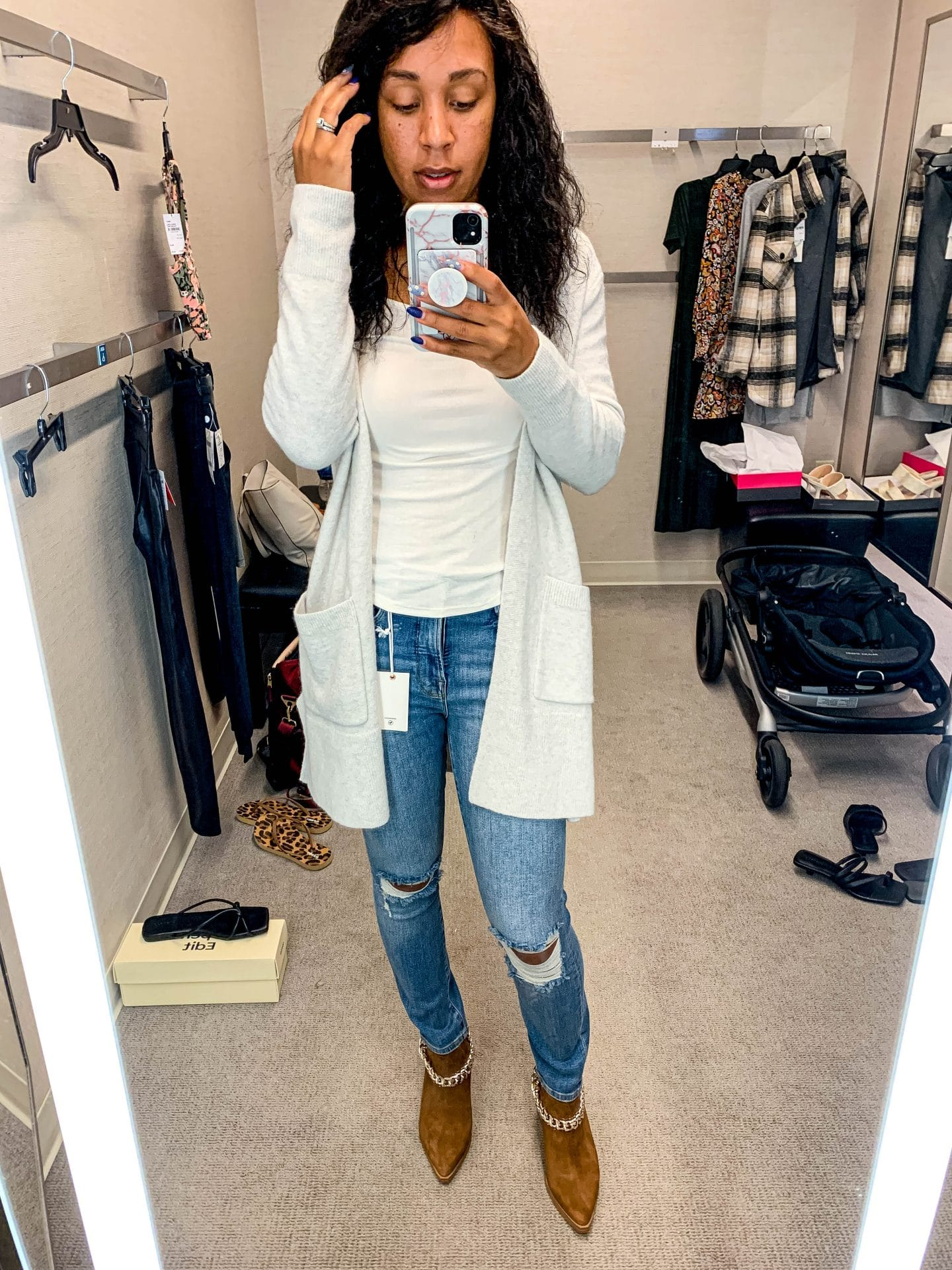 livinglesh nordstrom anniversary sale casual outfit