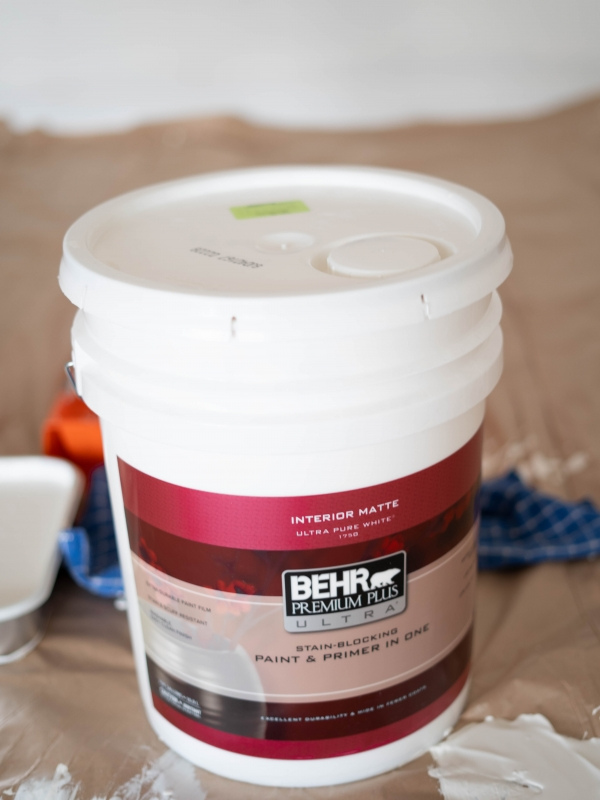 Personalizing Our First Home Before Moving In with Behr