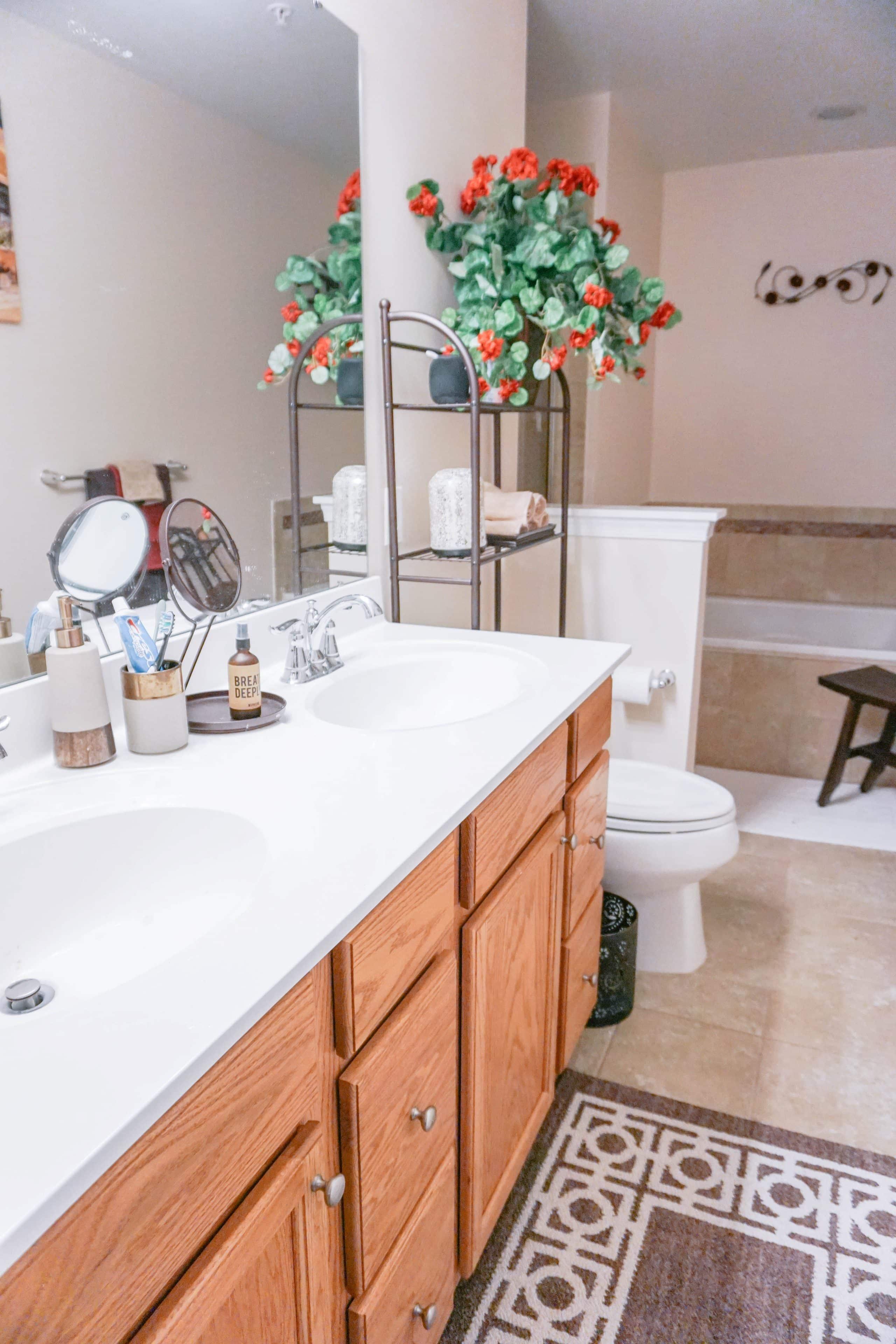 Our New Home Bathroom Decor - LivingLesh