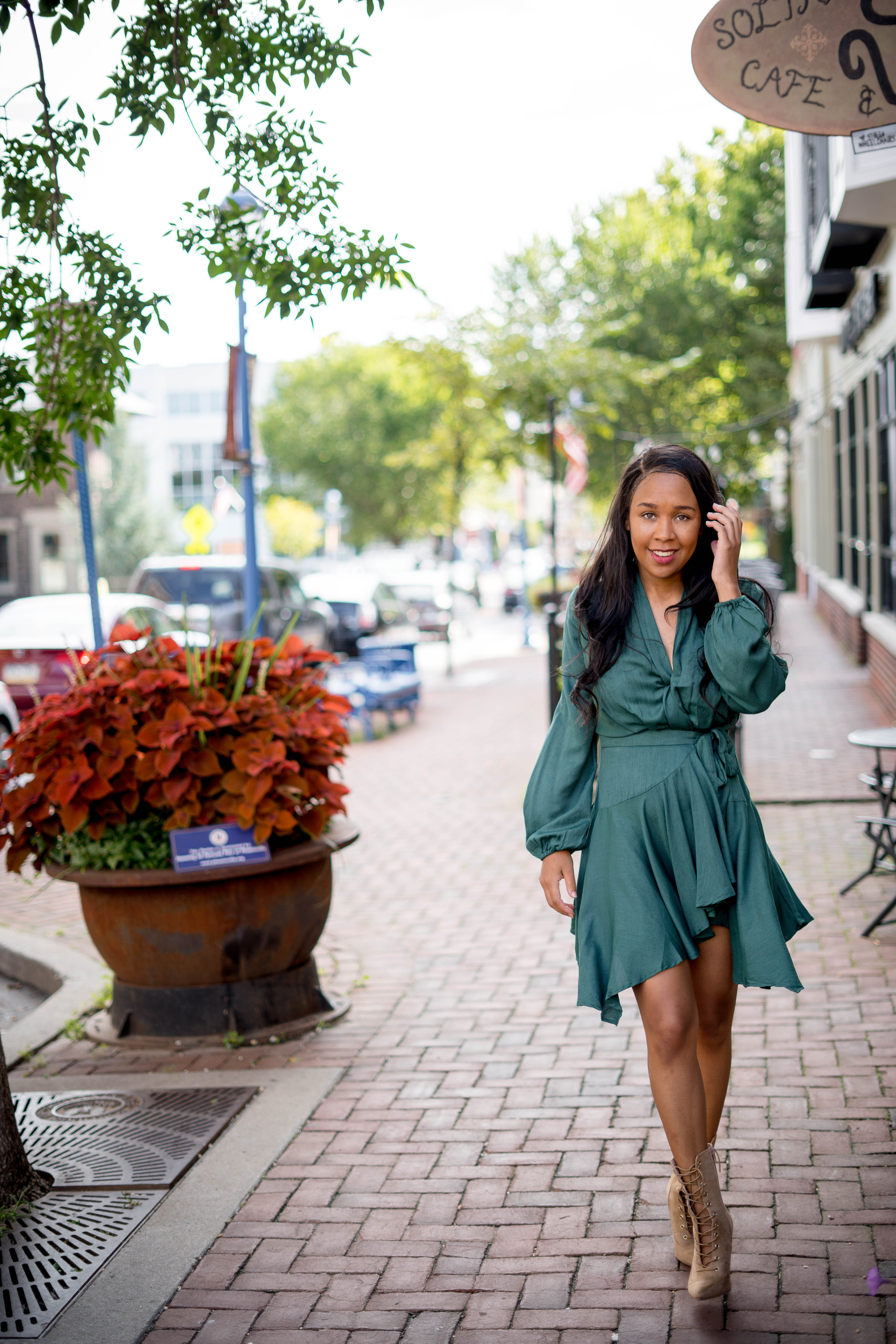 The Perfect Transitional Dress For Early Fall Livinglesh