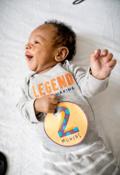 Carter's 2 Month Update + Baby Sleep Tips