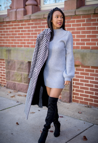 A Perfect Chic Winter Date Night Outfit