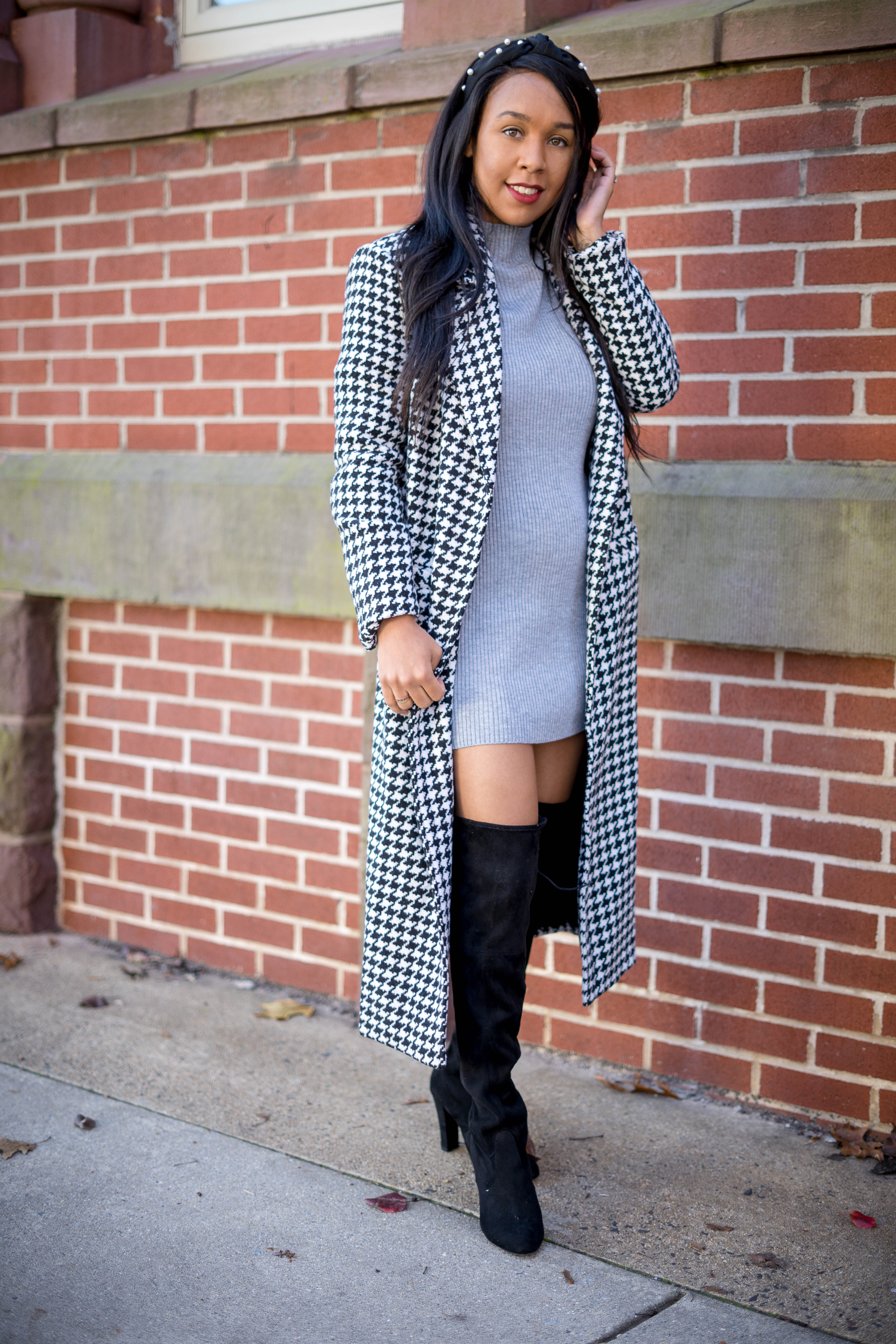 a winter date night outfit  holiday style 2019  livinglesh