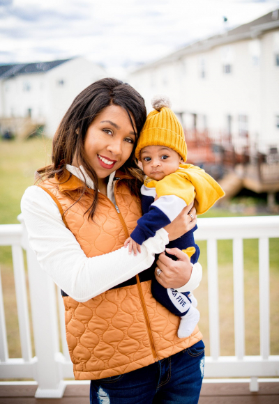 How to Create Matching Mommy & Son Outfits
