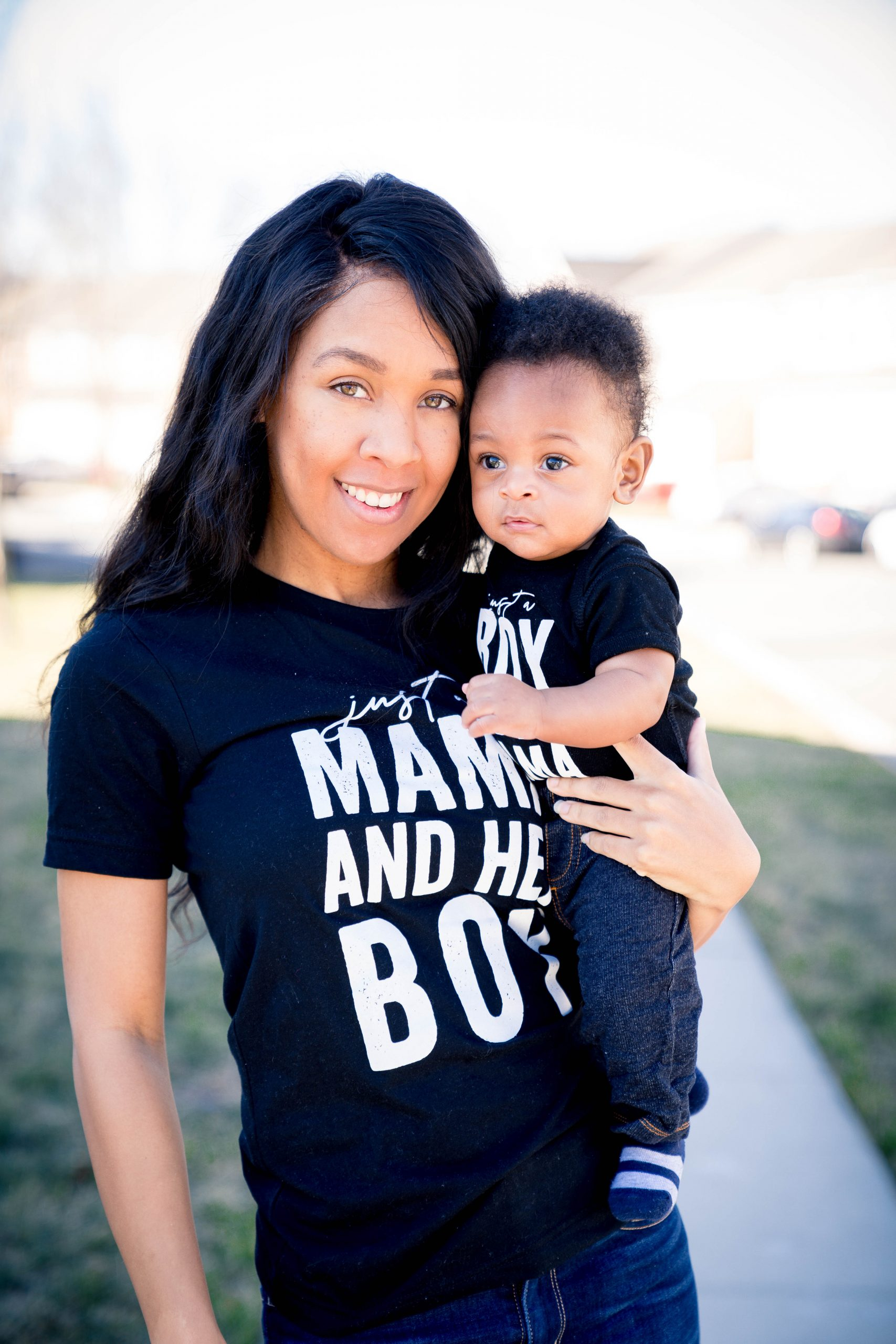 mommy and son outfit