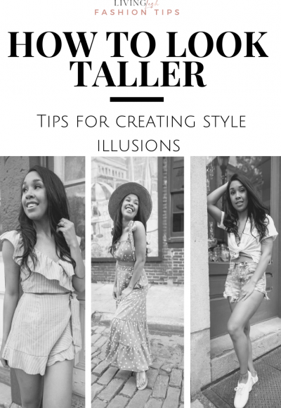 How to Look Taller: Tips for the Creating Style Illusions