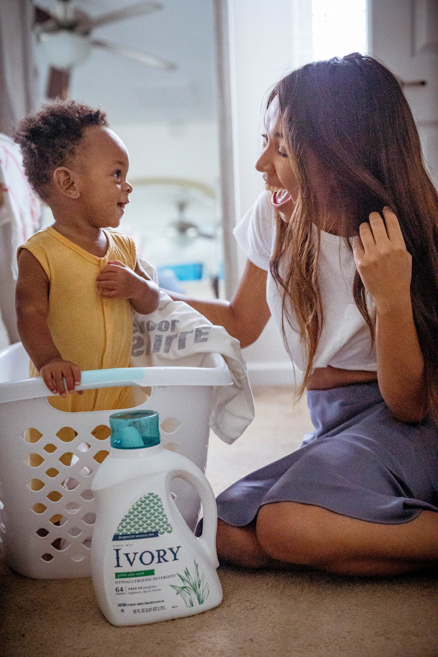 LivingLesh using ivory detergent for babies with sensitive skin