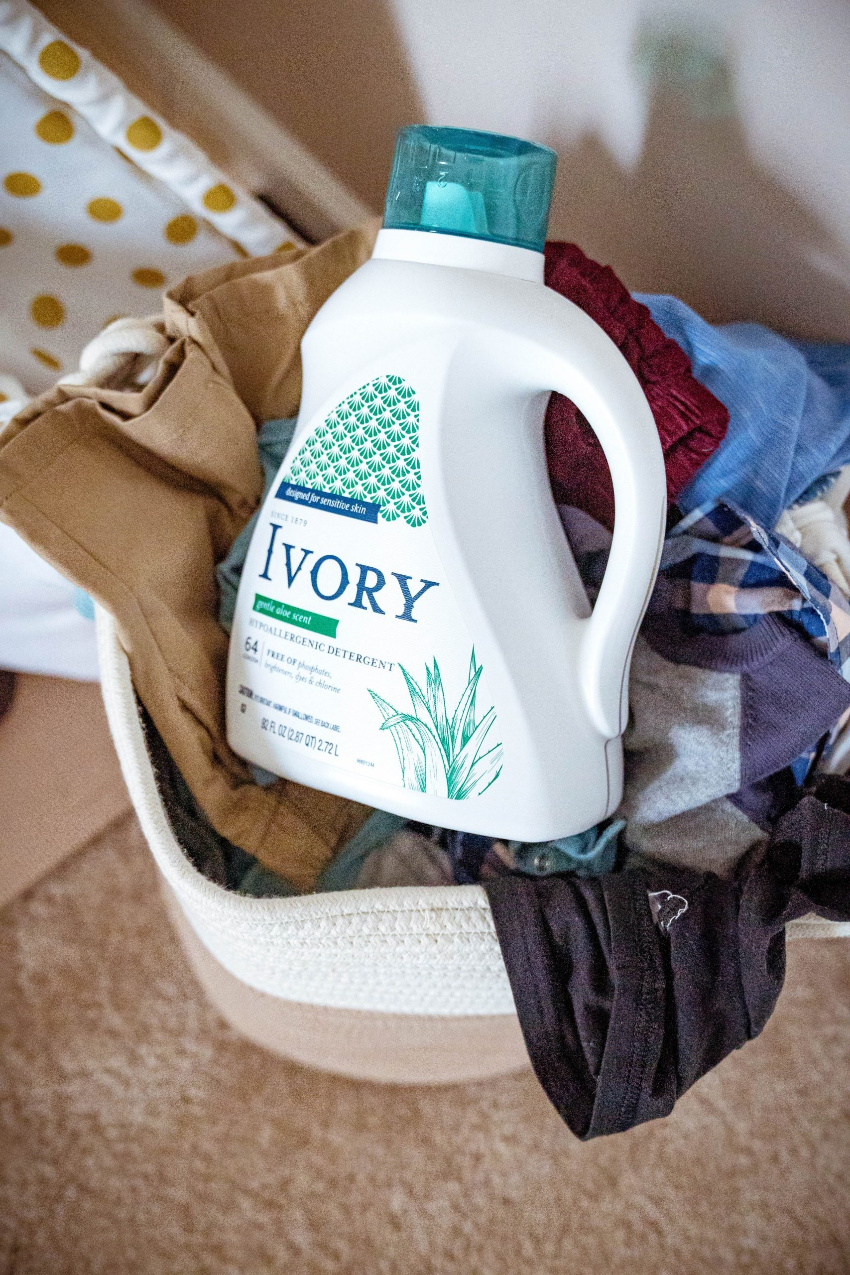 LivingLesh using ivory laundry detergent