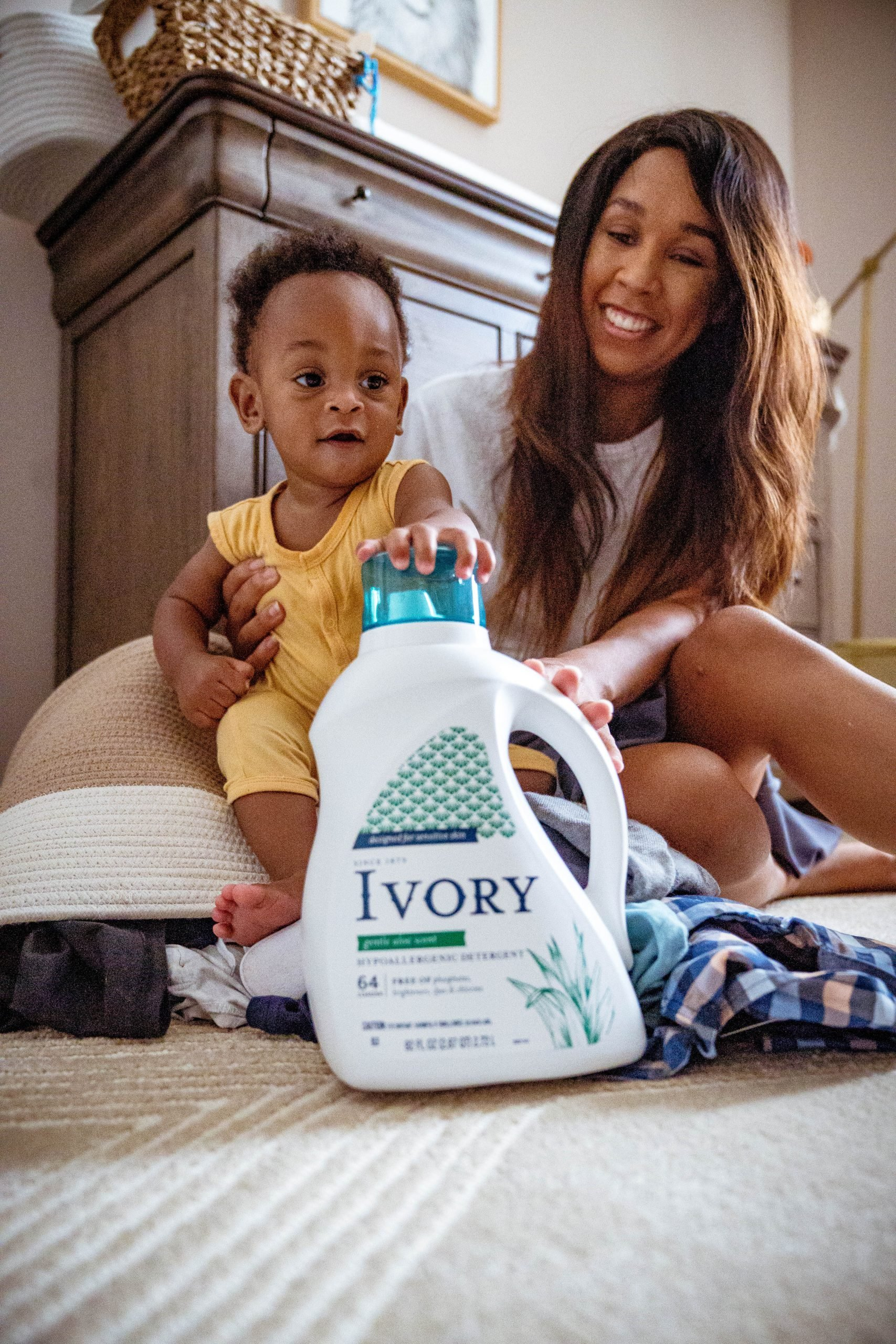 LivingLesh using laundry detergent for baby clothes