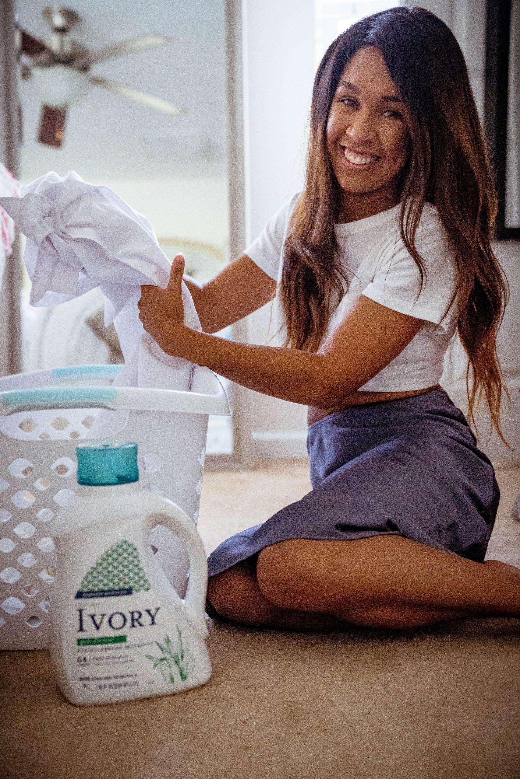 LivingLesh using laundry detergent for eczema