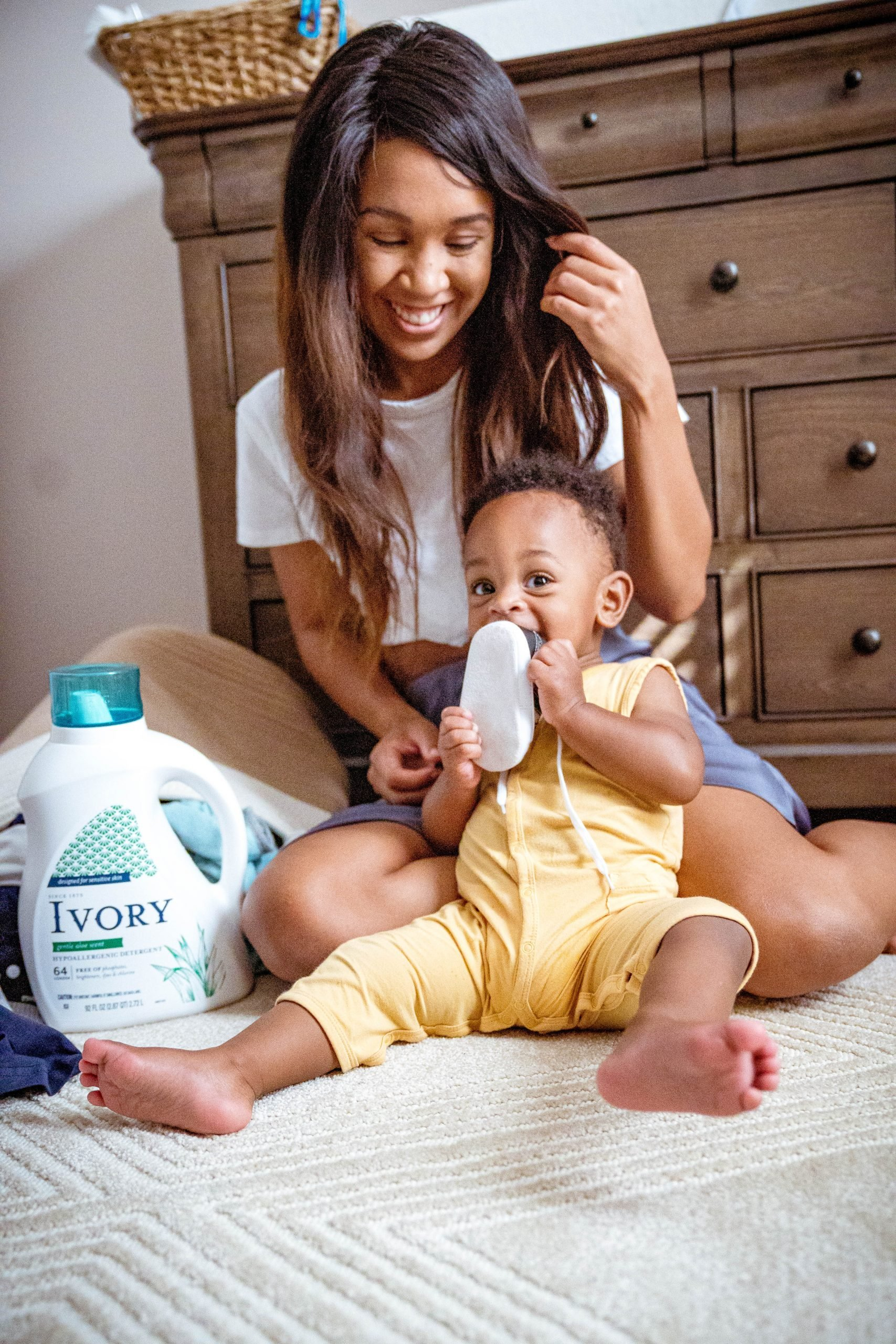 LivingLesh using laundry detergent for toddler clothes
