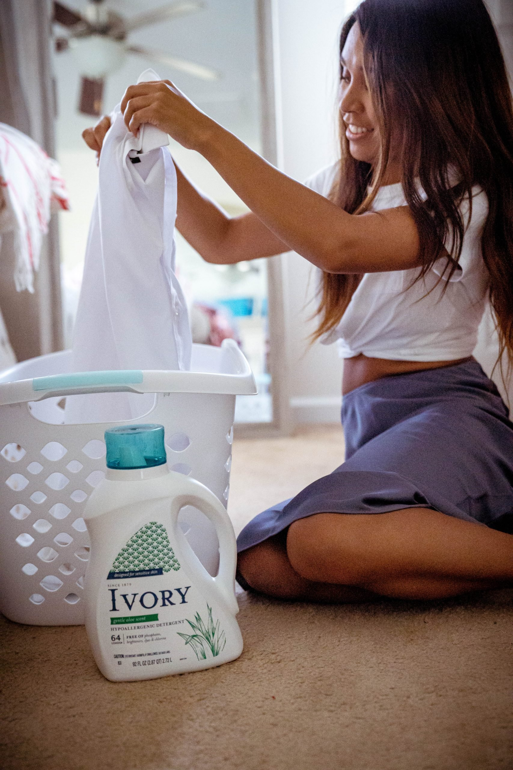 LivingLesh using laundry detergent for toddler with eczema
