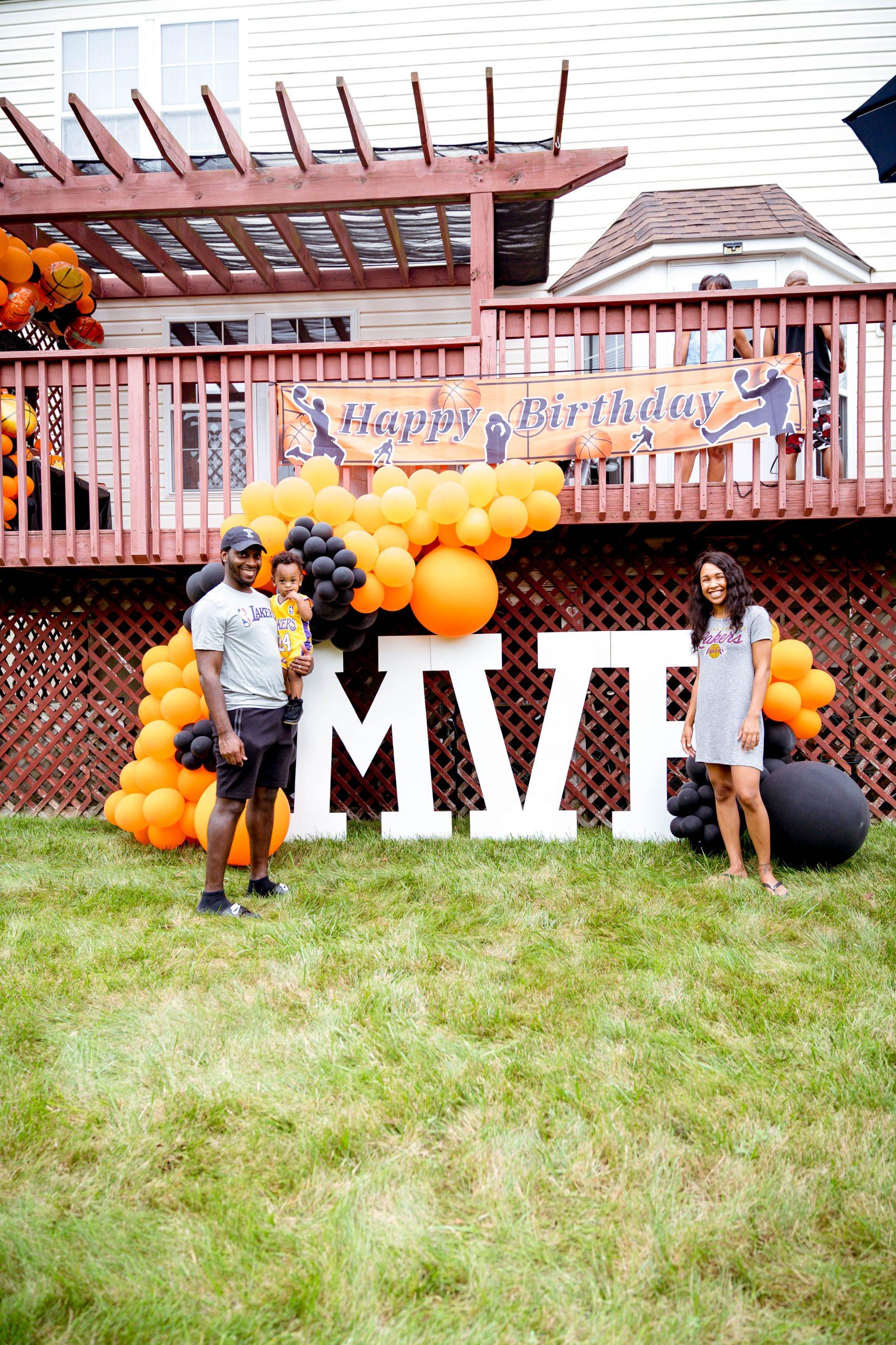 livinglesh basketball first birthday party