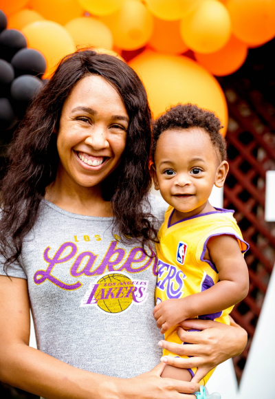 Carter's 1st Birthday Party – The Basketball Bash