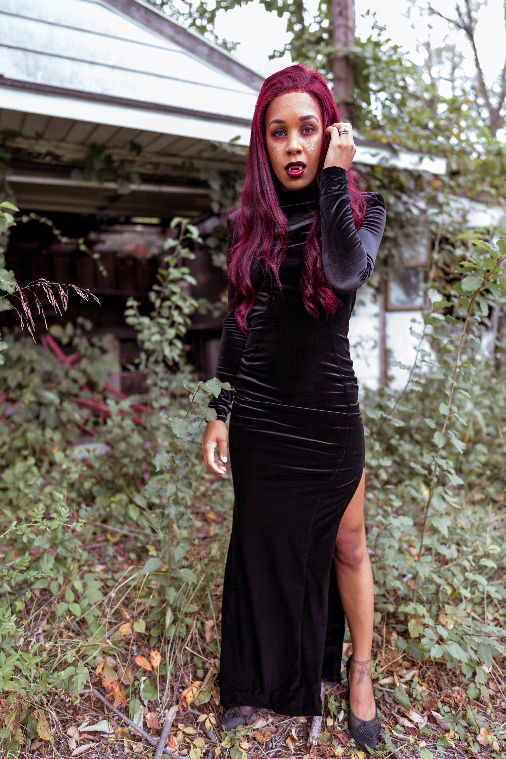 livinglesh halloween vampire costume