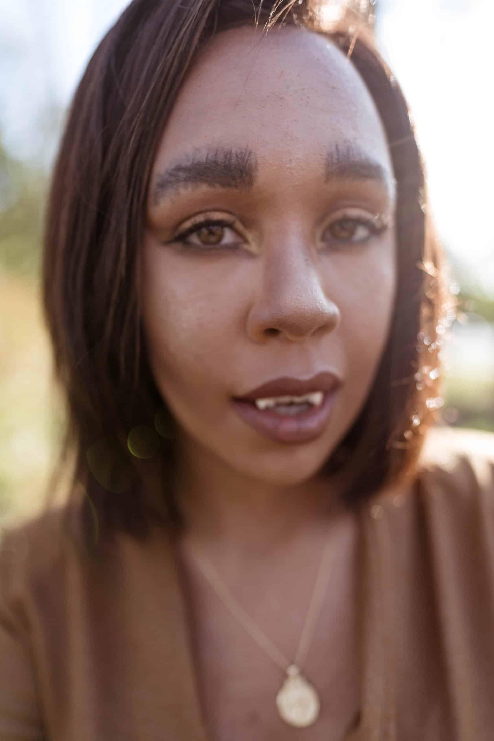 livinglesh woman werewolf makeup