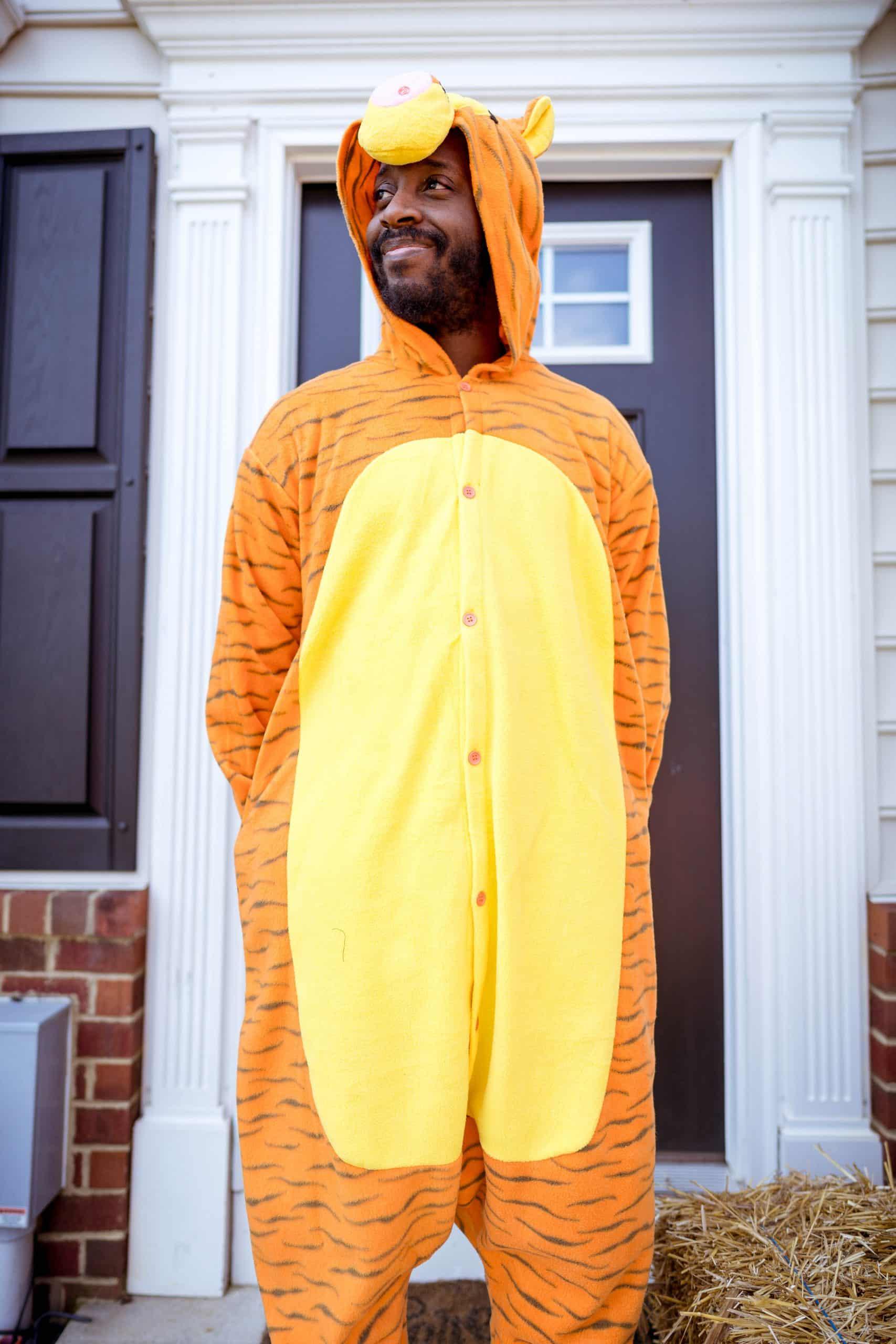 livinglesh mens tigger costume