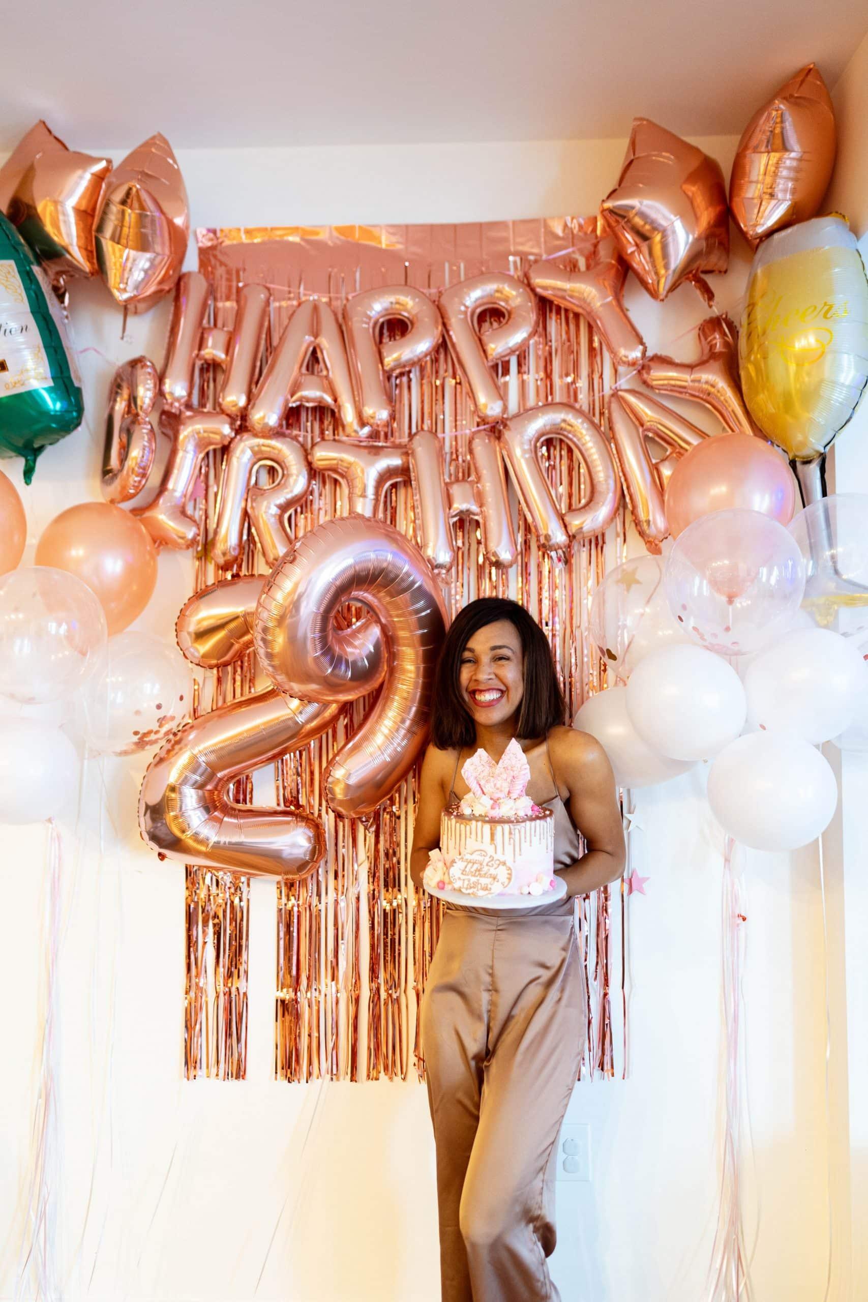 livinglesh 29th birthday party theme
