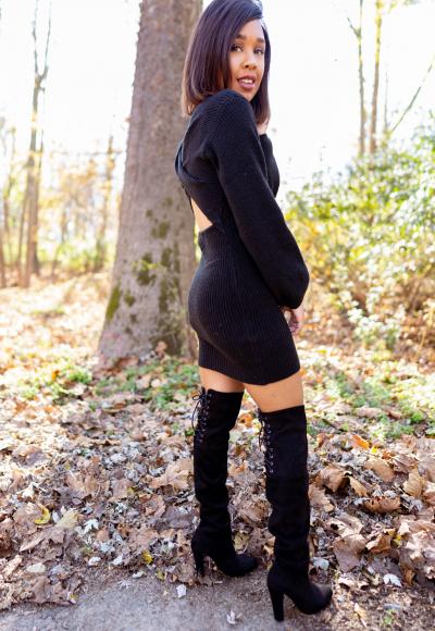 Closet Essential – The Little Black Sweater Dress