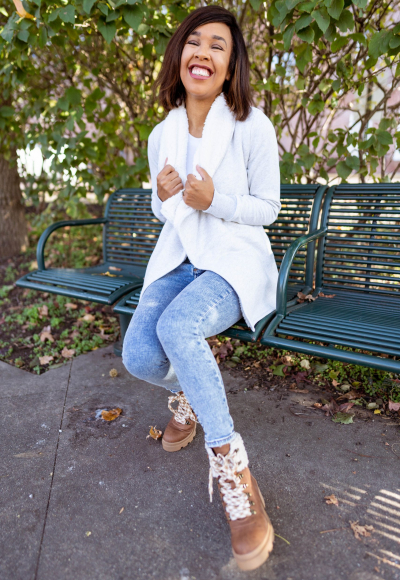Chic in Sherpa