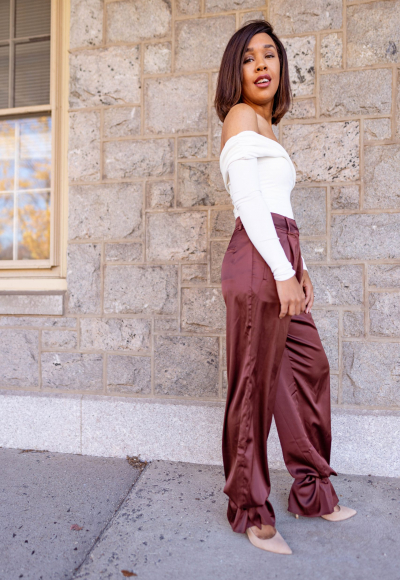 How to Style Tie Ankle Pants