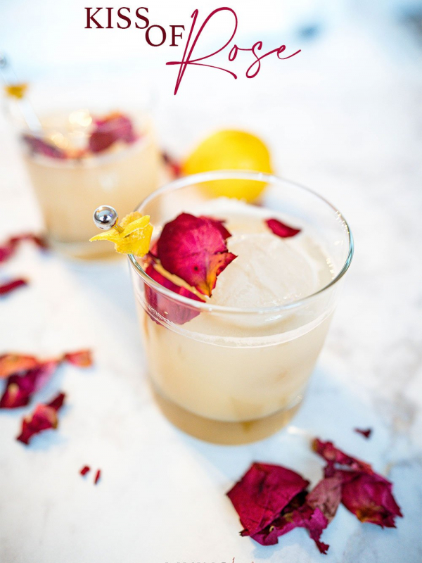 Kiss of Rose Cocktail Recipe