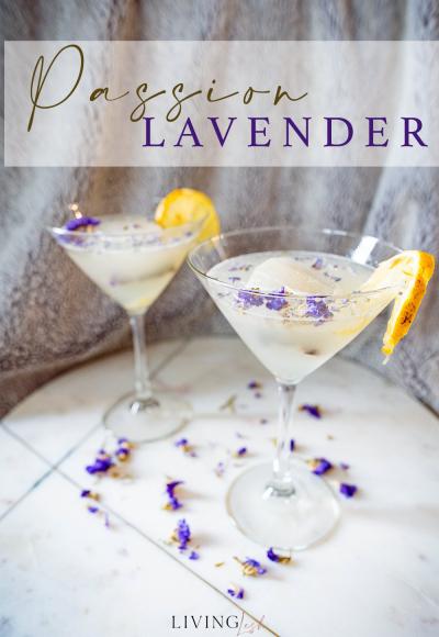 Lavender Passion Martini