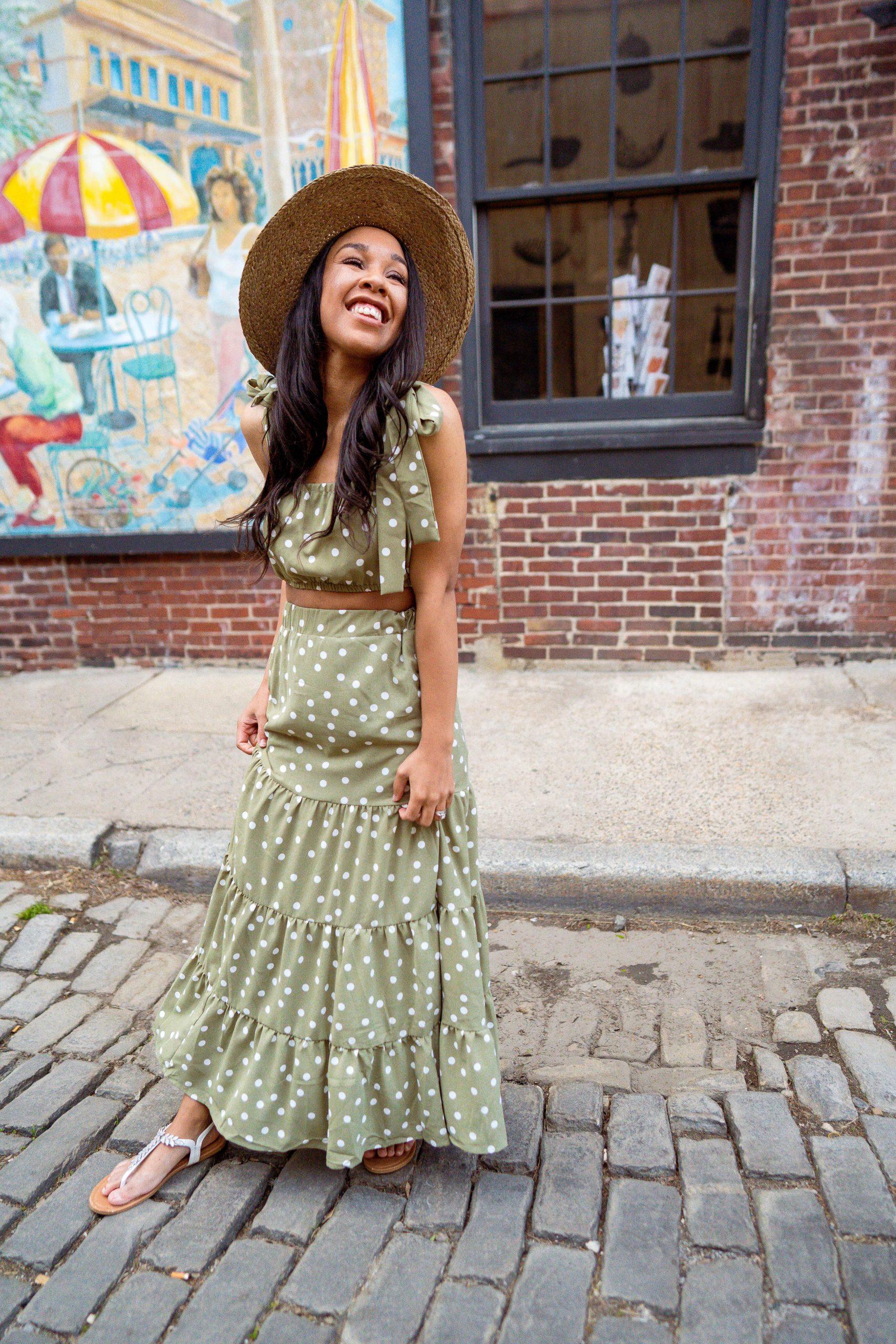 livinglesh two piece dress