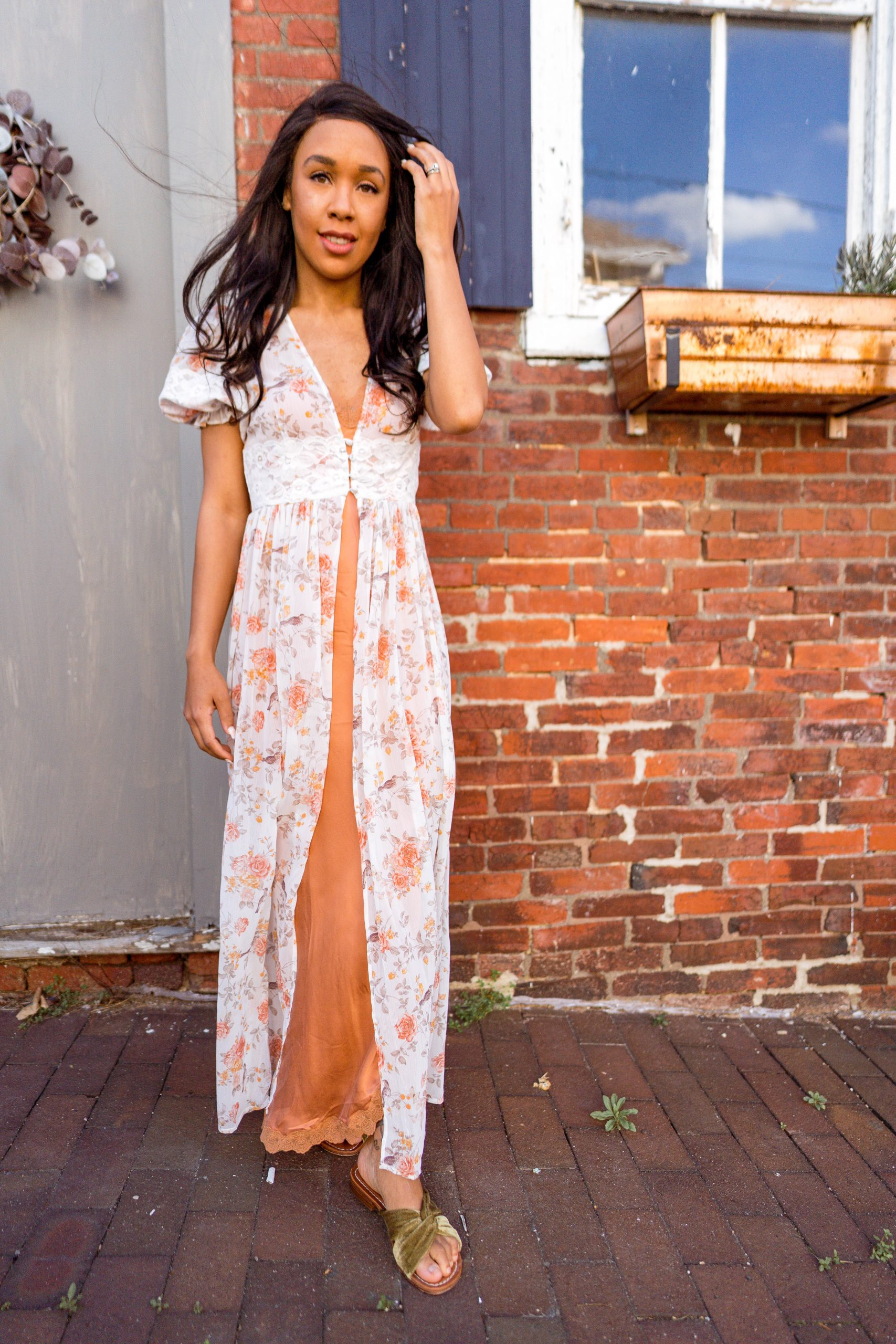 livinglesh we wore what lace duster