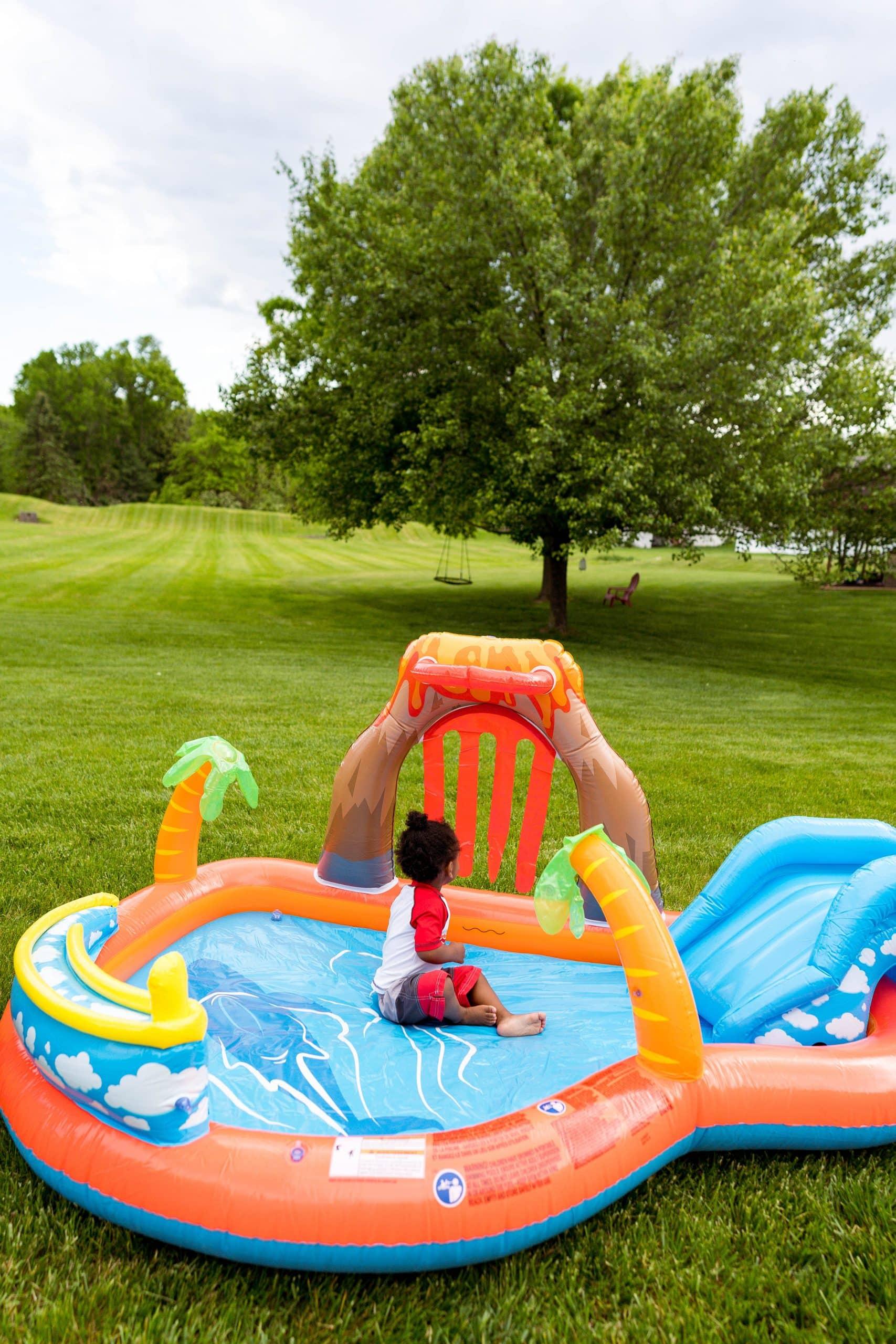 livinglesh toddler pool from walmart