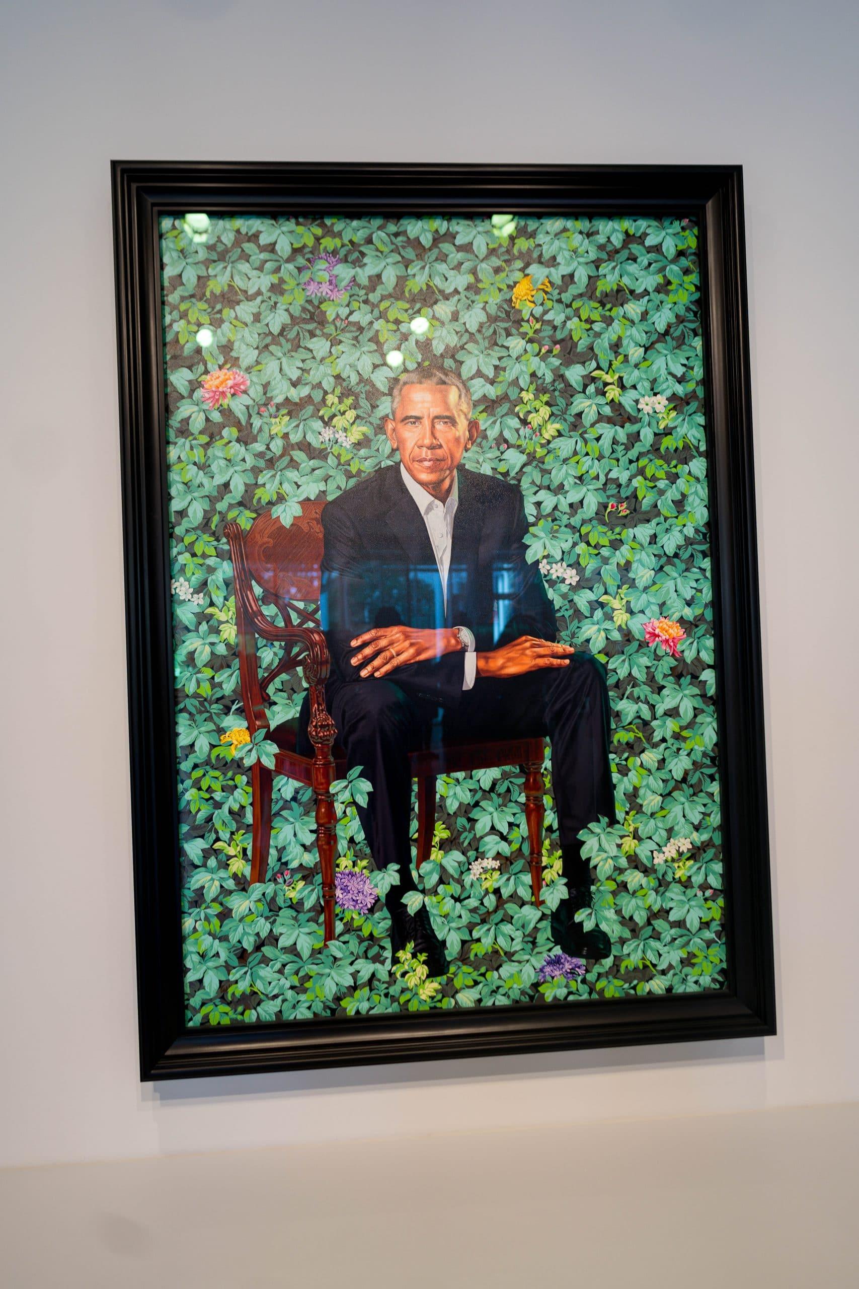 livinglesh barack obama portrait