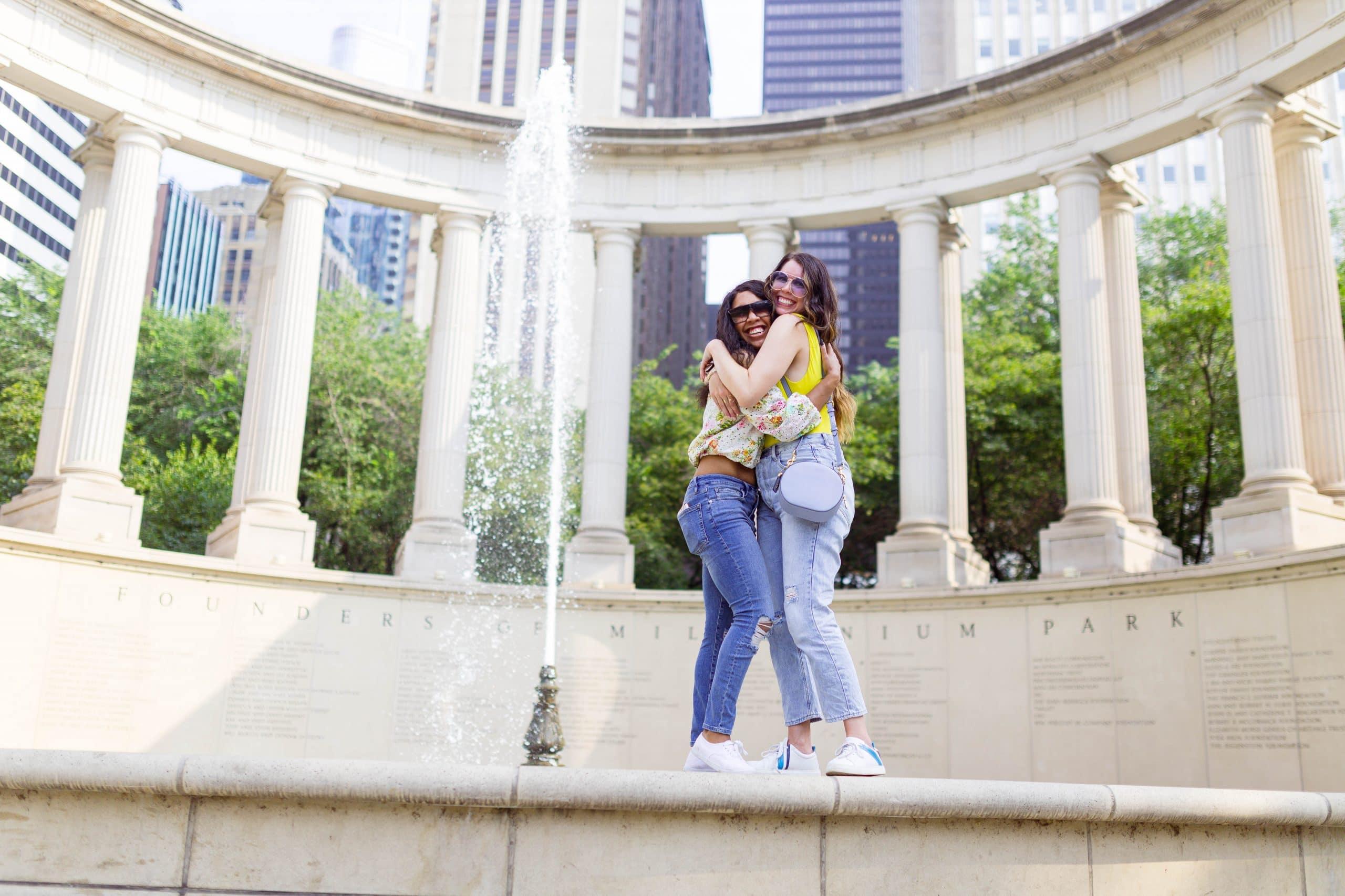 livinglesh chicago fountain