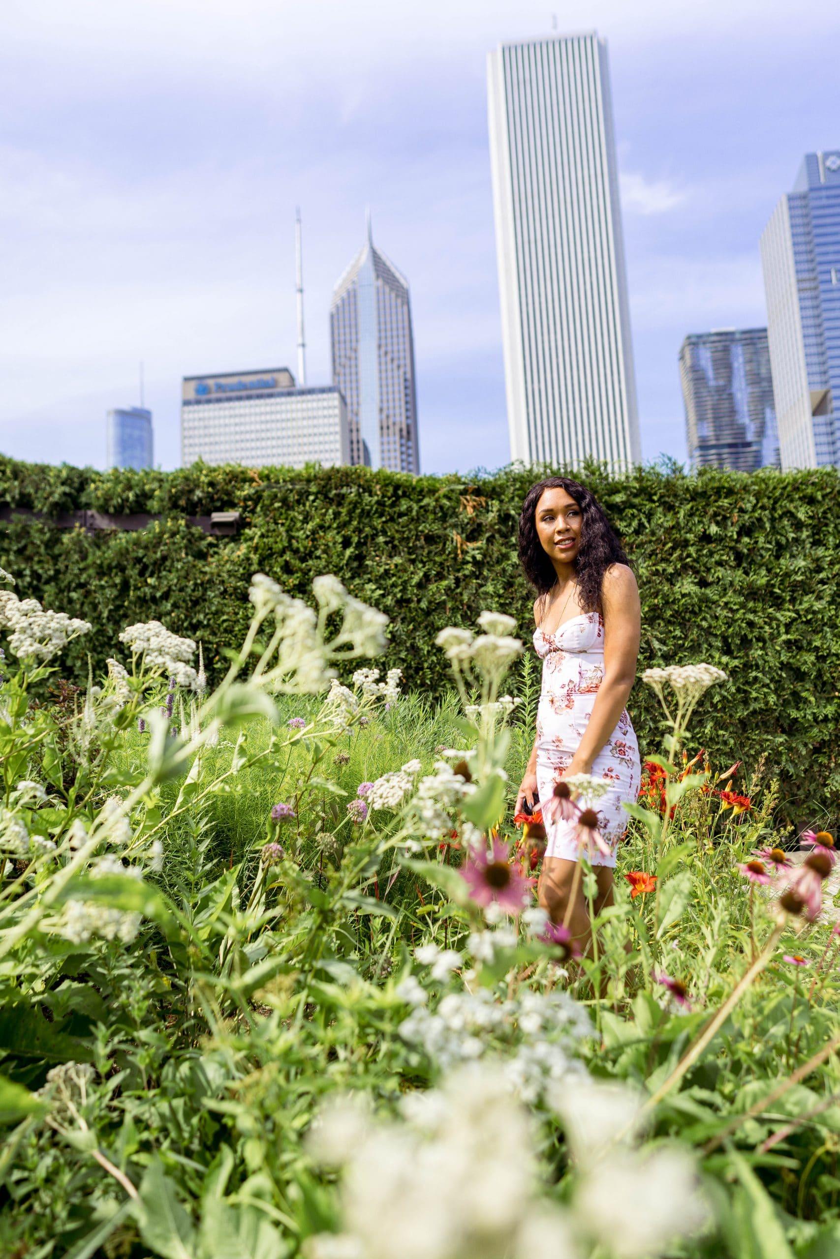 livinglesh millenium park lurie garden
