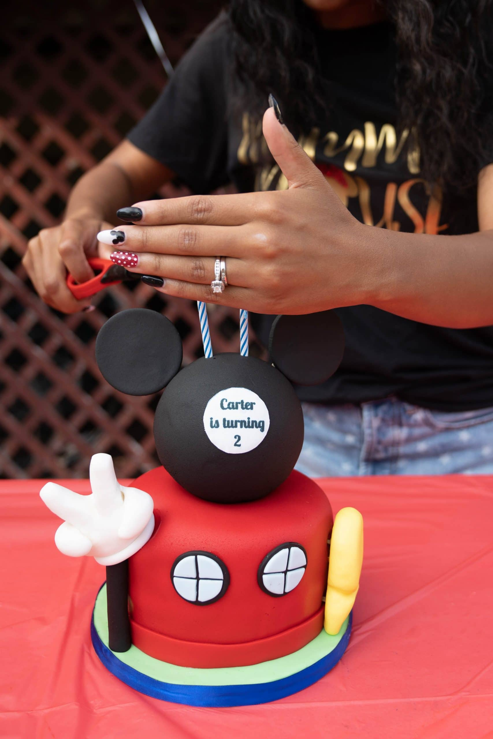 livinglesh birthday cake mickey mouse clubhouse