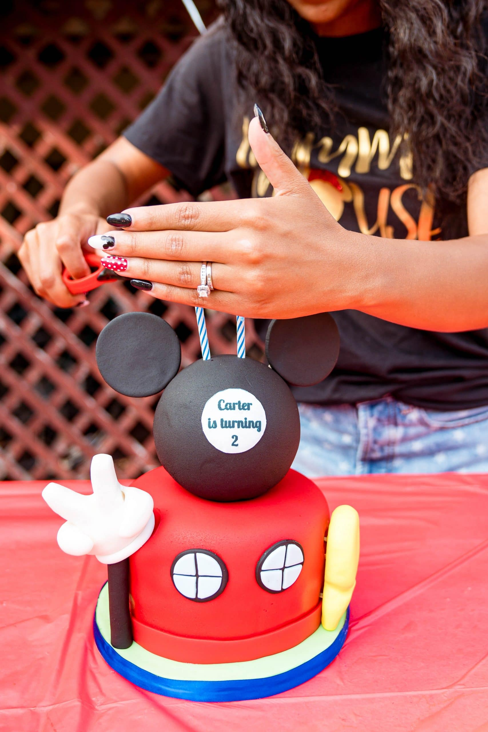 livinglesh mickey mouse birthday party clubhouse cake