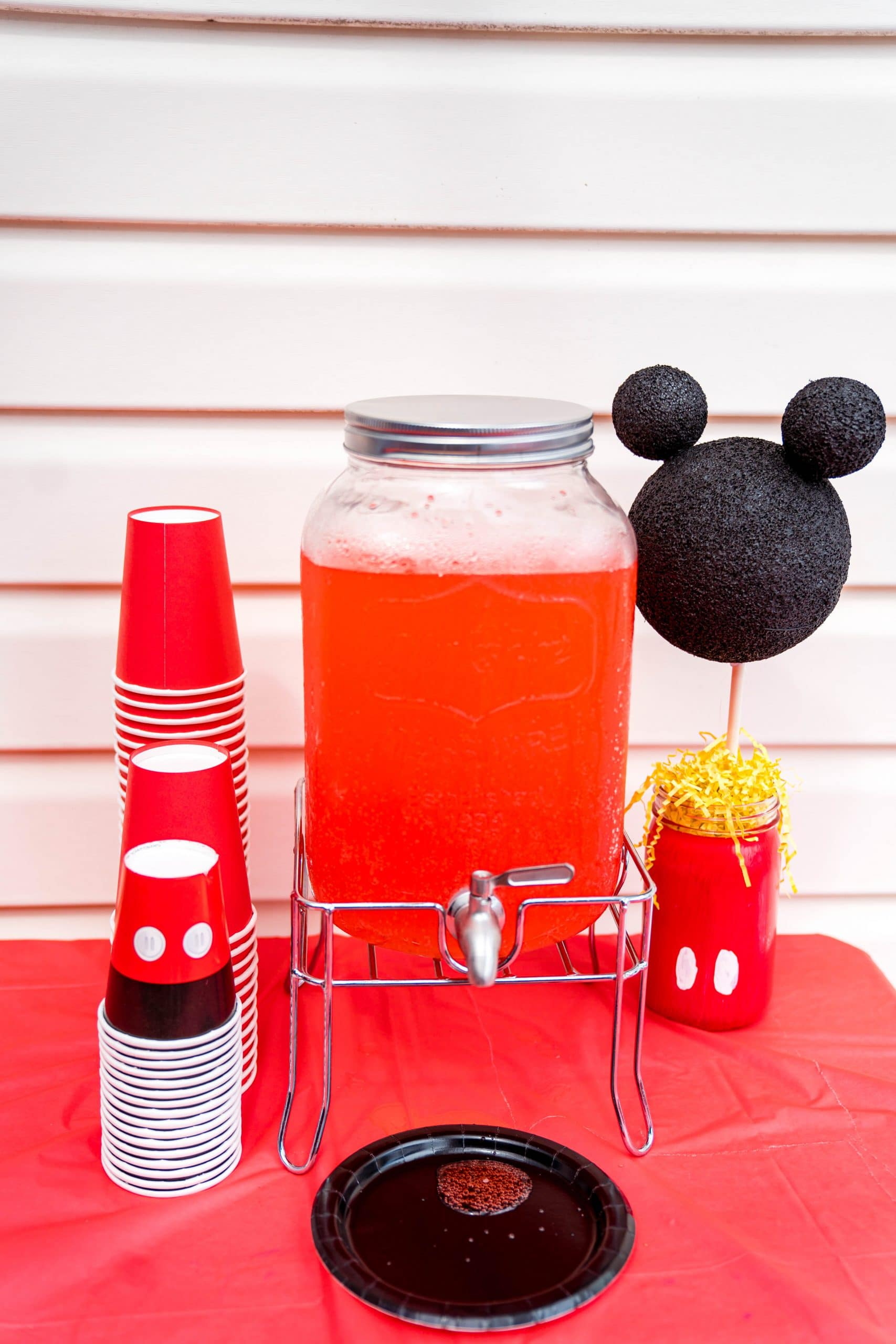 livinglesh mickey mouse clubhouse birthday party decorations