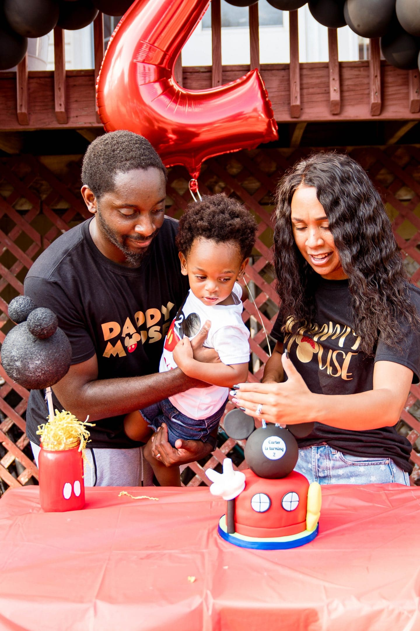 livinglesh mickey mouse clubhouse birthday party for second birthday