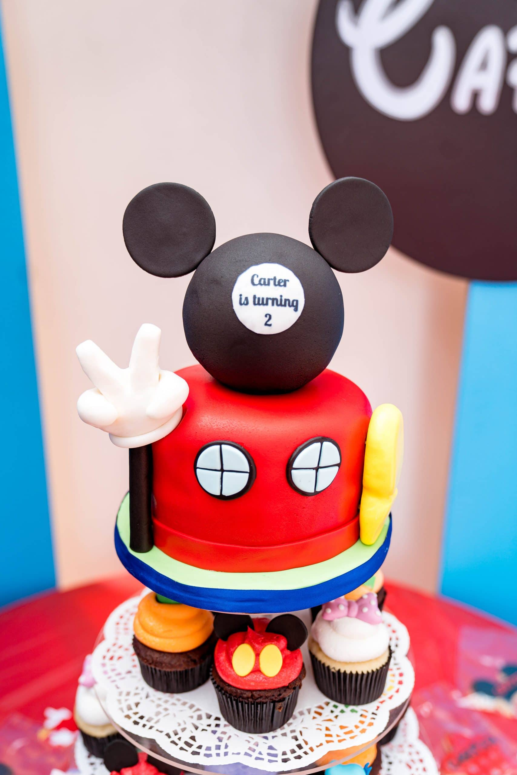 livinglesh mickey mouse clubhouse cake