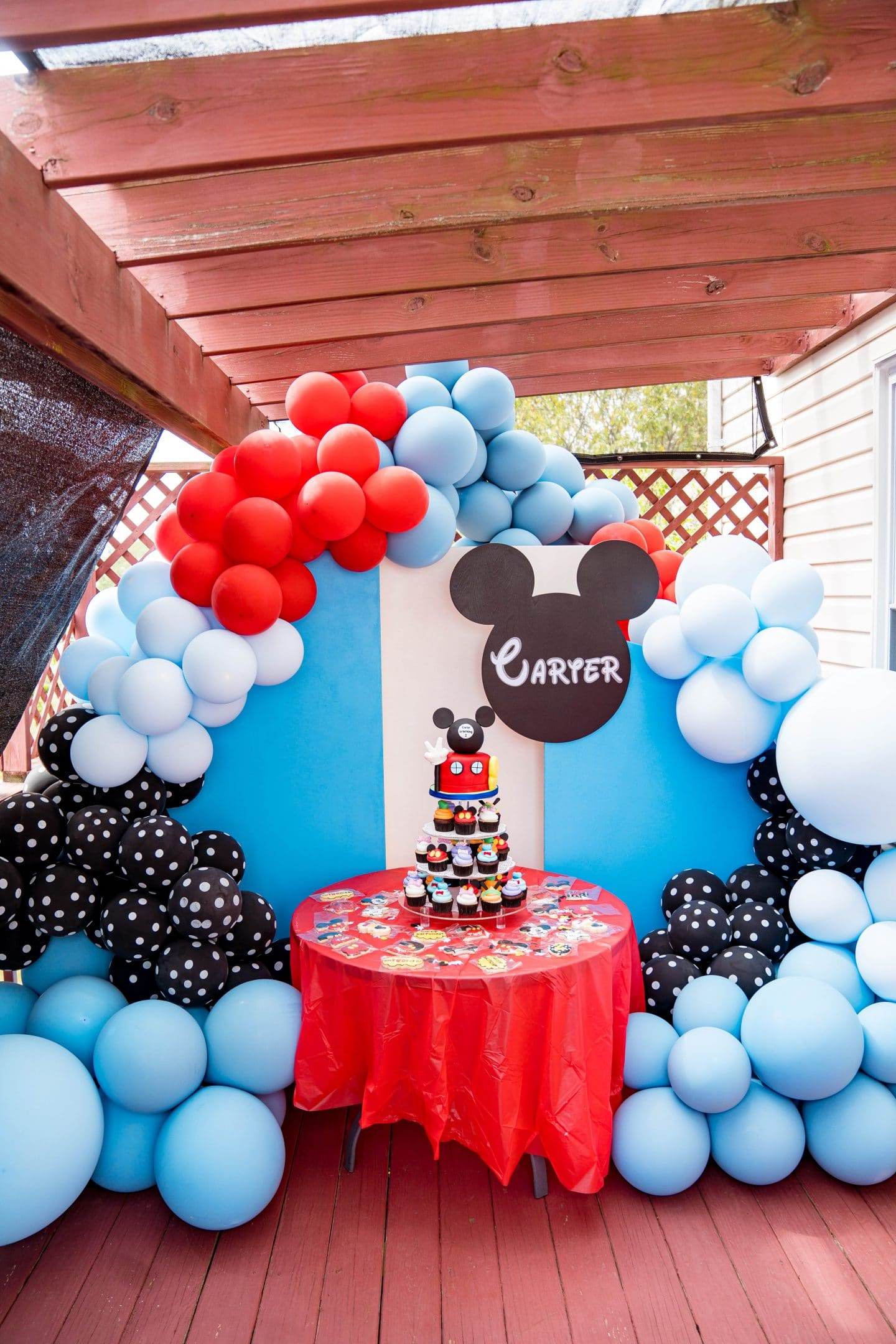 livinglesh mickey mouse clubhouse party decoration