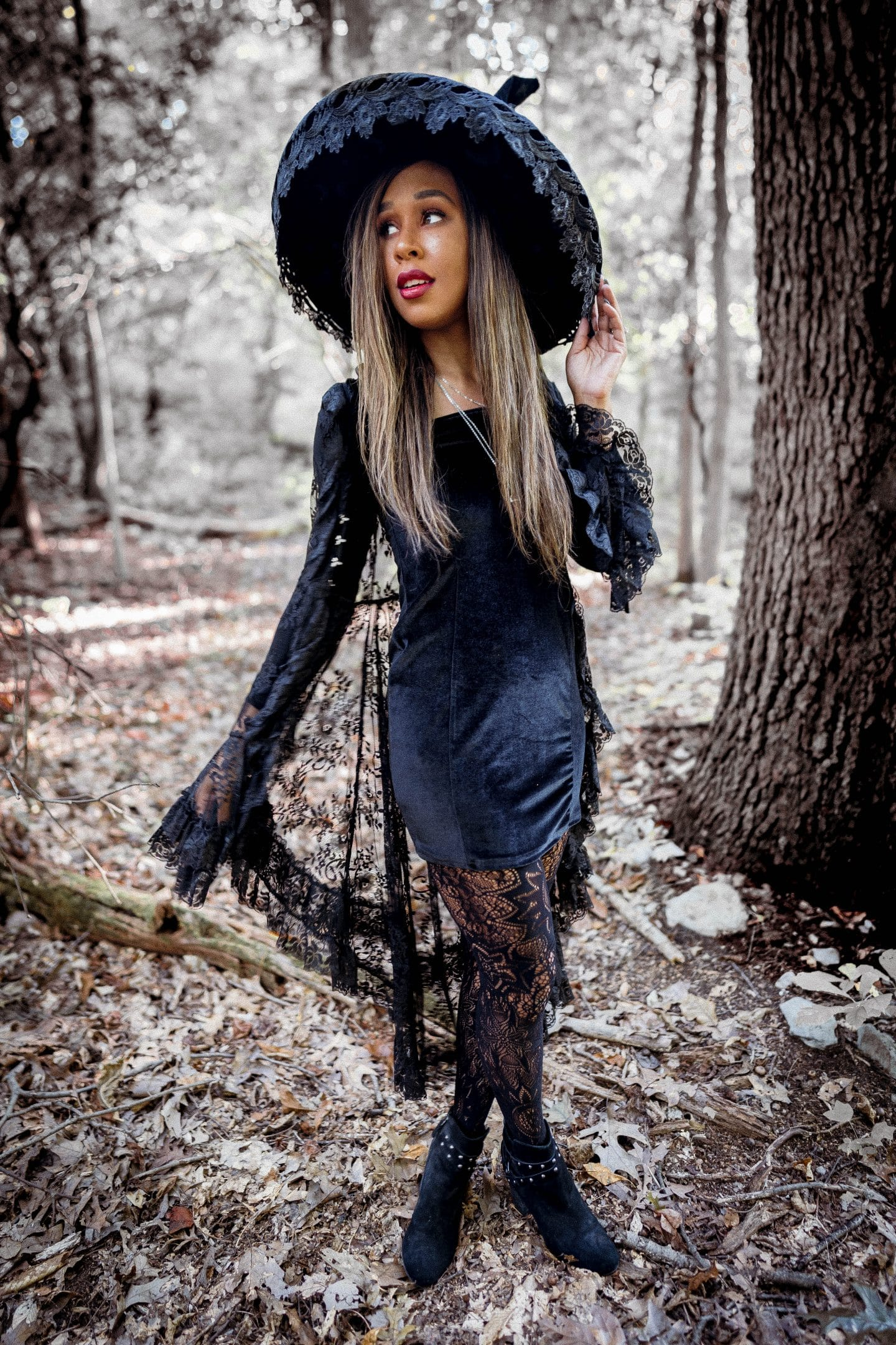 cute witch costume halloween by livinglesh